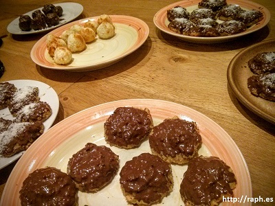 Picture of several Lebkuchen I recently made.
