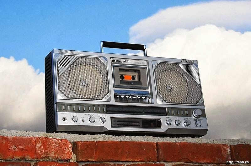 A classic, cool cassette player from the eighties
